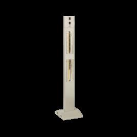 Burda smart-tower BHST30-3 zilver-grijs