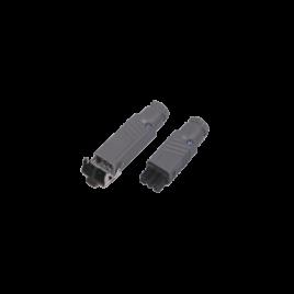 hirscmann stekkers om makkelijk dimmers tussen de snoer van de terrasverwarmer te plaatsen.