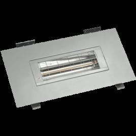BHSF15-3 Zilver/grijs – 1500 Watt inbouwframe