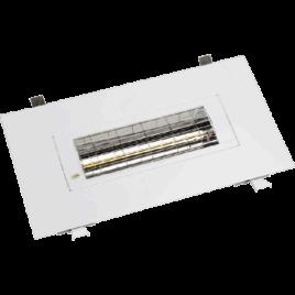 BHSF15-2 Wit – 1500 Watt inbouwframe