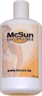 McSun Snelbruiner creme